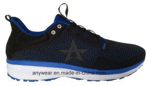 La gimnasia de hombres del calzado de Flyknit se divierte los zapatos corrientes (816-9943)