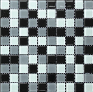 Tuiles de mosaïque en cristal