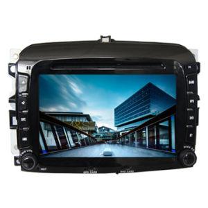 in Dash Navigation Unit DVD mit Radio GPS für FIAT 500