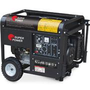 ガソリン発電機6kw (SP8000EWS)