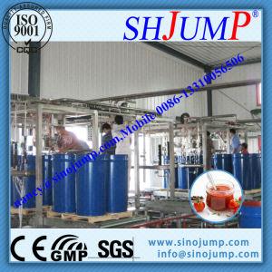 Frucht-Pasten-aseptische Vakuumfüllmaschine für 2-220L