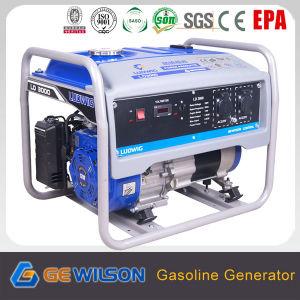 Gasolina de 3000W generador portátil fabricado en China