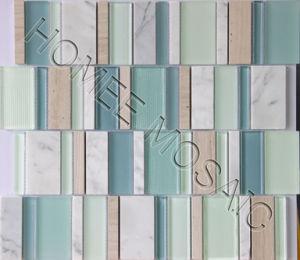 Mosaïque de verre et mélange de carreaux (YS04)