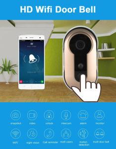 Классический дизайн 1.3 Mega Pixel Wireless WiFi IP-IR Видеокамера дверь
