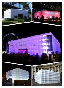 Eclairage LED Tente de Réception / Concert Gonflable Salle / Tente Cube Gonflable