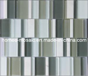 Nouveau motif carreaux de mosaïque de verre mur (YS02)
