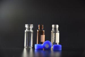 Clair et Orange 2ml Flacons en verre tubulaire