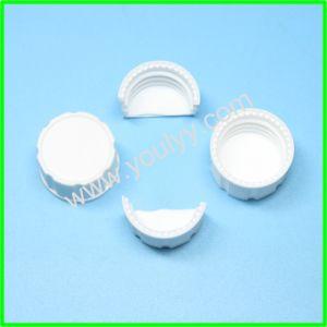 Les capuchons en plastique blanc pour les vis