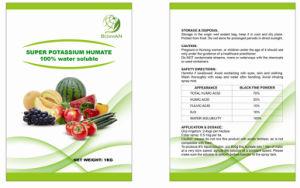 Humusachtig zuur, HA60%, K2o10%, 95% in water oplosbare kalium humate Meststoffen