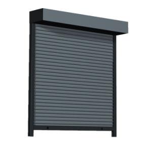 Haut de la qualité de l'aluminium rouleau automatique de la sécurité extérieure de porte de l'obturateur