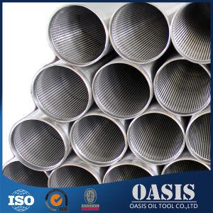 熱いステンレス鋼304のジョンソンスクリーンのワイヤーによって包まれる管