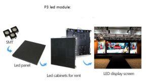 P2.5 P3 P2 a todo color en el interior de la imagen de vídeo LED Paredes Adversting
