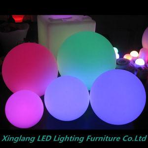 Mobiliário de LED Recarregável/ Bola LED com mudança de cor