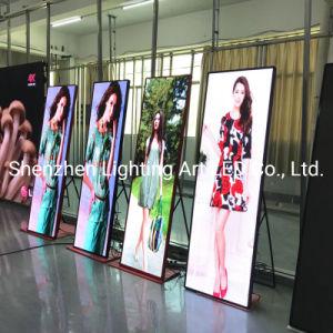 P1.9 и P2.5/P3 Подвижной полноцветный светодиодный индикатор для установки внутри помещений LED наружного зеркала заднего вида на экране плаката для рекламы
