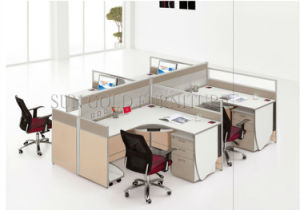 Büro Möbel Modularer Arbeitsplatz, Gewebe Gerätelagerung Büro Partition  (SZ WS159)