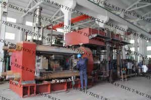 Prensa de extrusão de alumínio com válvula e bomba Rexroth