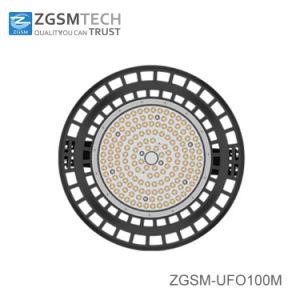 100 a 200 W LED de alta protección IP65 OVNI de la luz de la Bahía de Gasolinera con sensor de movimiento