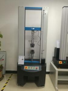 Sistema computadorizado de tensão e compressão de alongamento máquina de teste de resistência à tracção