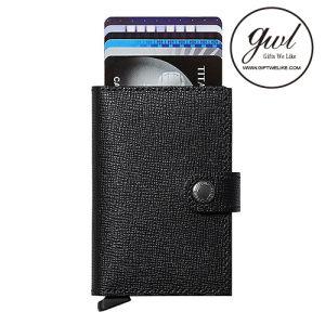 Slim RFID Tarjeta de Crédito Monedero Slider