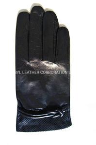 Lady Fashion des gants en cuir (JYG-24087)
