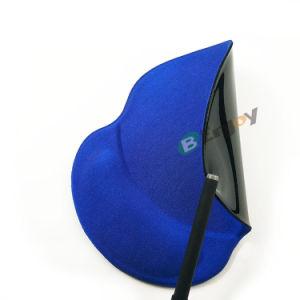 Cor azul simples pulseira Gel Personalizado Mouse pad de repouso com preço barato
