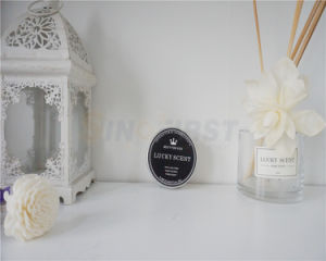 Caja de estaño metal Vela de cera de soja, velas aromáticas para el comercio al por mayor