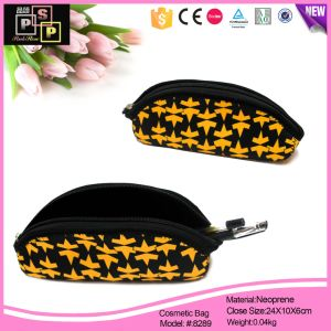 Fashion sac cosmétique avec Maple Leaf (8289)