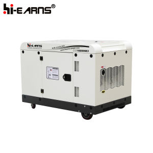 12kw luchtgekoelde Diesel van Twee Cilinder Generator (DG16000SE)