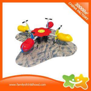 De grappige Apparatuur van het Spel van de Rit van Kiddie van Vier Jonge geitjes van Zetels voor Verkoop