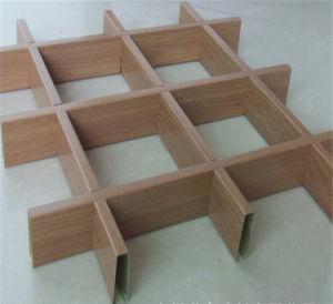 Rullo a prova d'umidità del fornitore della Cina che ricopre il soffitto di alluminio della decorazione del grano di legno