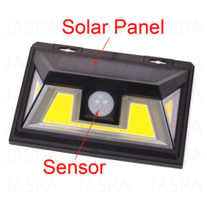 Captador Solar luz nocturna IP65 (27-1P1803)