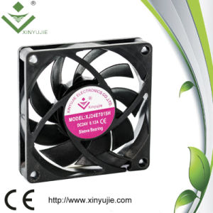 70mm des Gleichstrom-3000rpm Motorrad-Kühler-Kühlventilator Kühlvorrichtung-Ventilator-70X70X15
