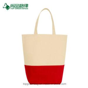 China-Form-Segeltuch-Baumwolleinkaufen-Griff-Beutel für Damen