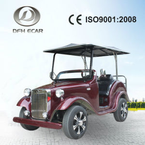 4 sièges voiturette de golf électrique avec la couleur à être personnalisé