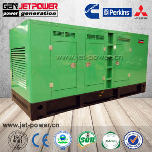 Schalldichter generator-Kraftstoffverbrauch des Kabinendach-20kw 25kVA Dieselpro Stunde