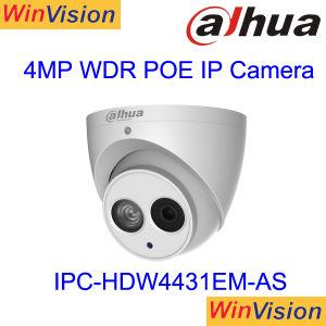 La vigilancia de la red Poe Dahua H265 4MP cámara IP4431Ipc-Hdw em-ase
