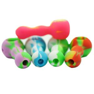 China Wholesale sin BPA de alta calidad de silicona de grado alimentario tubo tabaco DAB