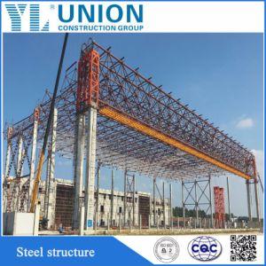 Estructura de acero de celosía metálica para el aeropuerto /Metro/ Piscina interior edificio