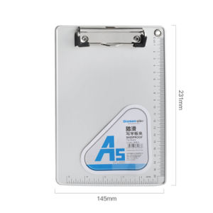 Ruler를 가진 A5 Wall Mounted Aluminum Office Writing Pad Clipboard