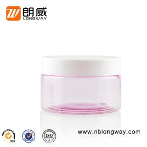 100g 150g de rosa las tapas de botellas de PET y PP cosméticos vacía tarro de crema de boca ancha