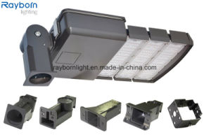 Lúmenes alto resistente al agua IP66 Sensor de movimiento de la luz de la calle LED 200W