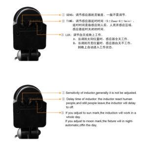 LED Oudoorの照明100With150With200Wは冷たく白い動きセンサー屋外ランプLEDの洪水ライトを防水する