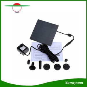 Mini Bomba de Agua Solar Kit Power Panel Fuente estanque de jardín piscina riego sumergibles