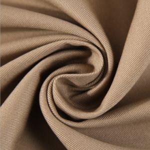 Venda por grosso Ecológico 100% de tecido de algodão para Workwear-Hc-01