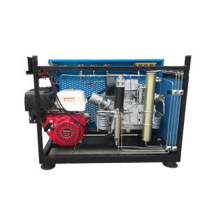 Eua Envio gratuito Gás Honda /9.0HP gasolina 265 L/Min 9,5 CFM 4500 Psi novos produtos da poupança de energia compressor de ar para Scuba / Paintball /Fire respirar