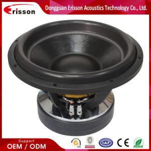 Alta qualidade de fornecedor OEM melhor Subwoofer de 15 polegadas colunas de altifalantes de áudio