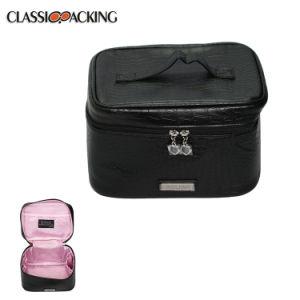 Dernière arrivée OEM de grande capacité de gros de qualité professionnel clair Zipper Sac cosmétique de luxe
