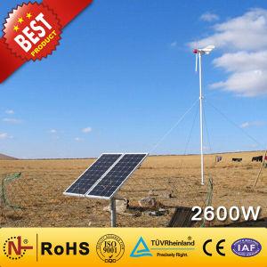 2kw+600W de alta eficiencia de energía solar Eólica sistema híbrido (2.6KW)