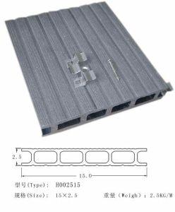 Decking composto amigável de Eco da cor cinzenta