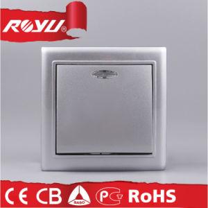 Interruptor de Luz de Montaje Superficie de Color Bronze para el Mercado Europeo